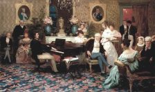 Chopin u Radziwiłła - Henryk Siemiradzki 1887